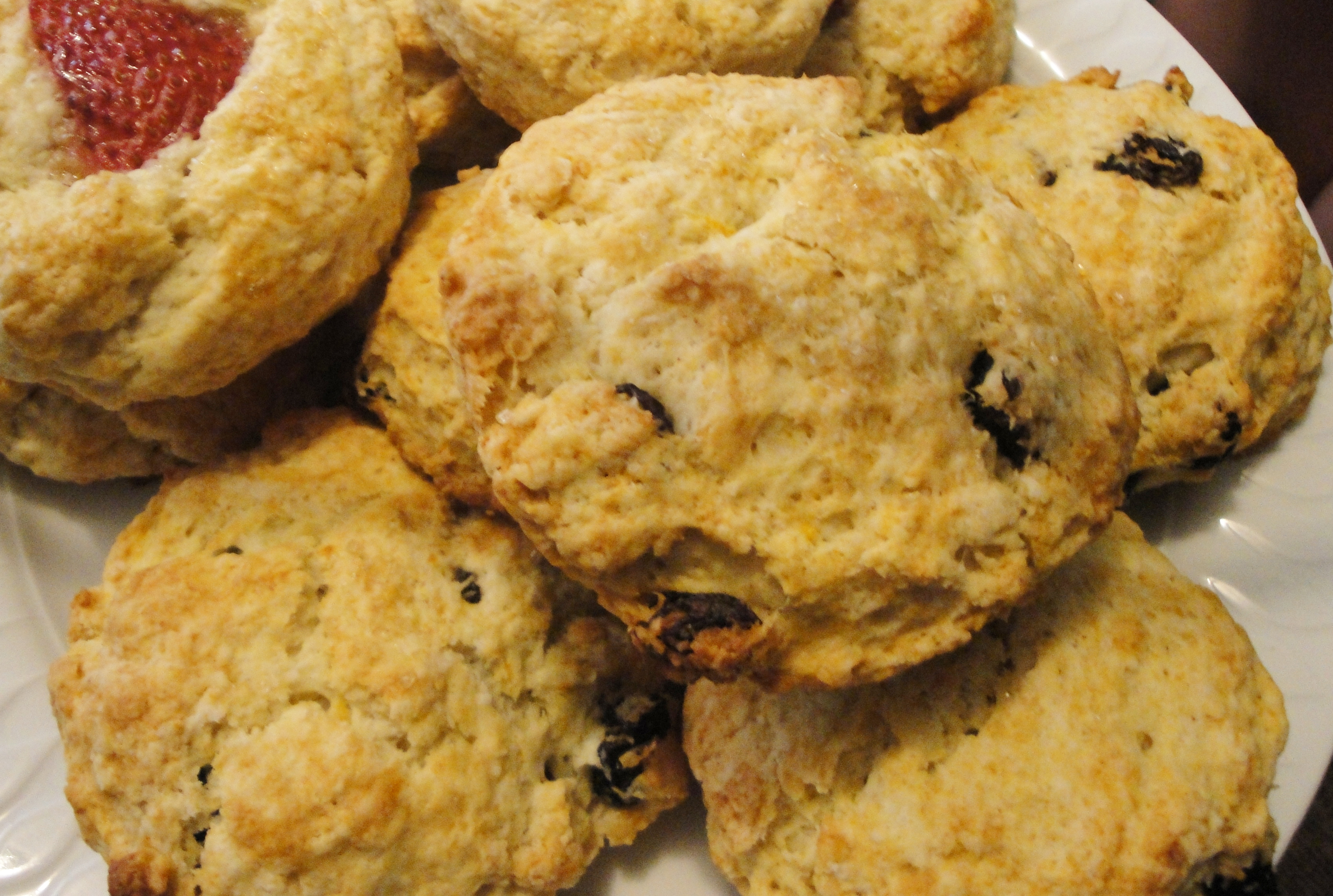 ... raisin scones after i bake the scones raisin scones recipe raisin