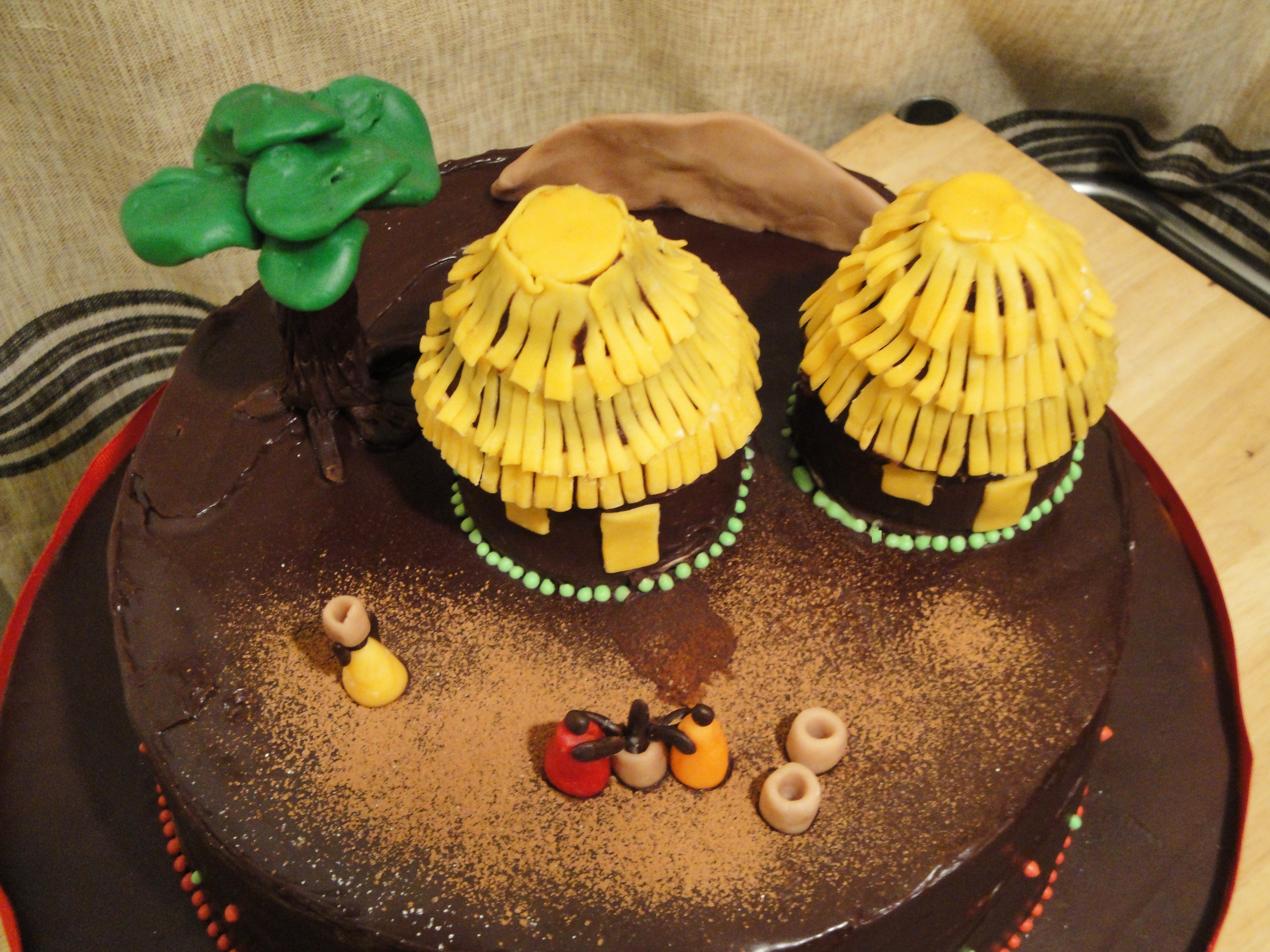 Back To Africa Cake Twee Tea Licious