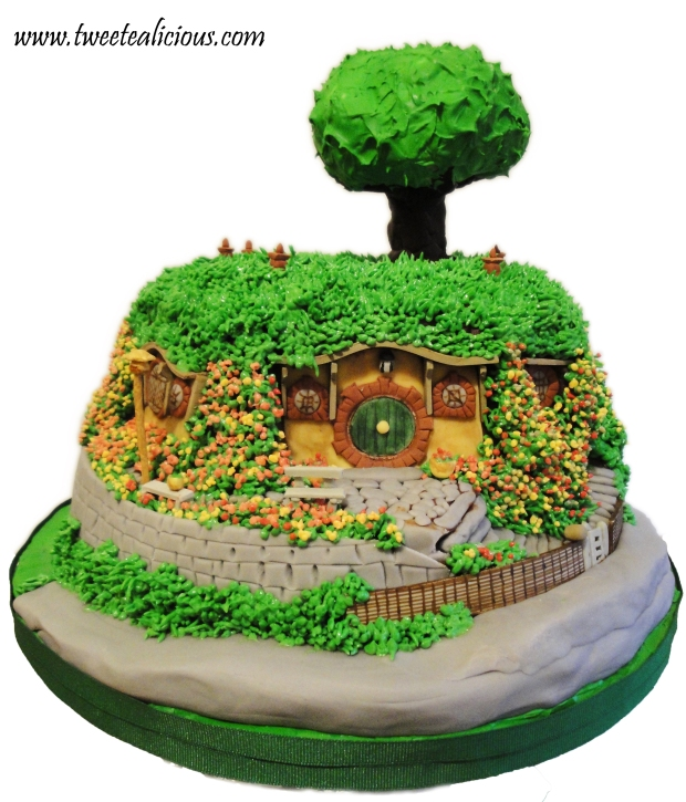 Lord of the Rings Bag End Cake
