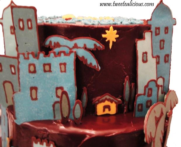 Christmas Story Cake 2012 Manger