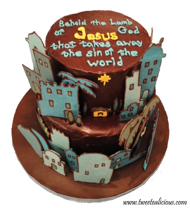 Christmas Story Cake 2012