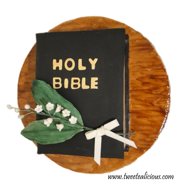 Bible Cake Bookmark Top