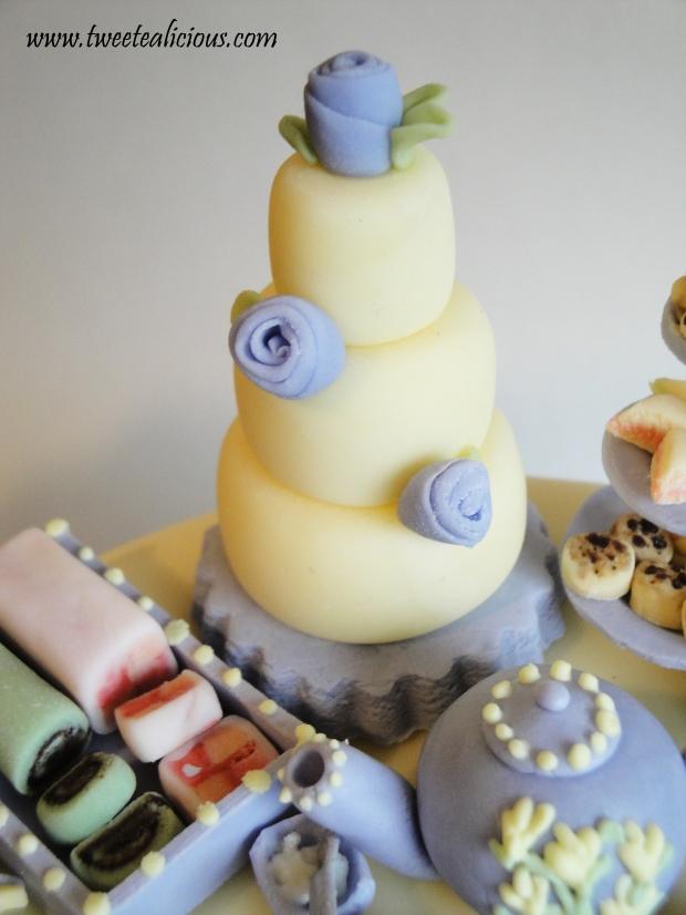 Mini cake detail