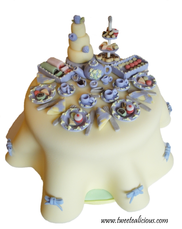 Bella's Tea Party Cake