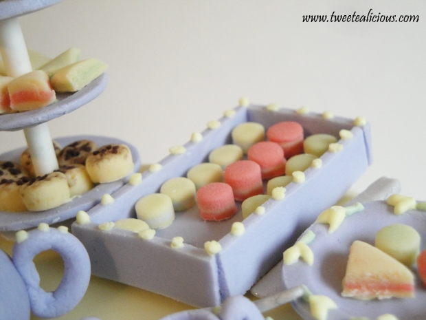 Tray with Macaroons