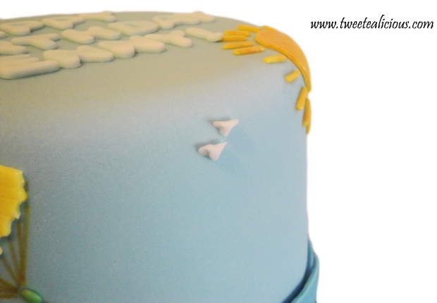 Beach Cake Birds