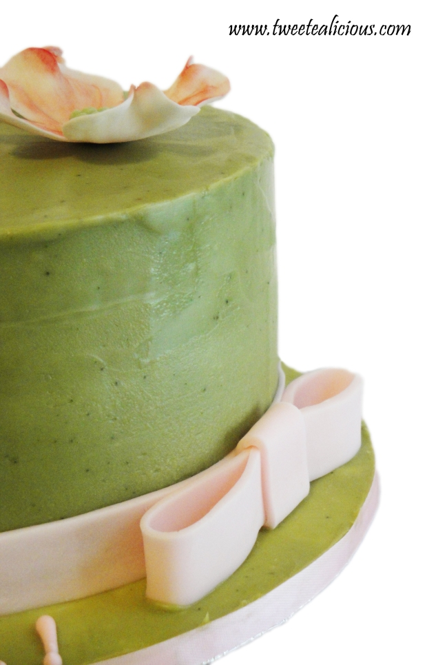 Dogwood Green Tea Cake Side