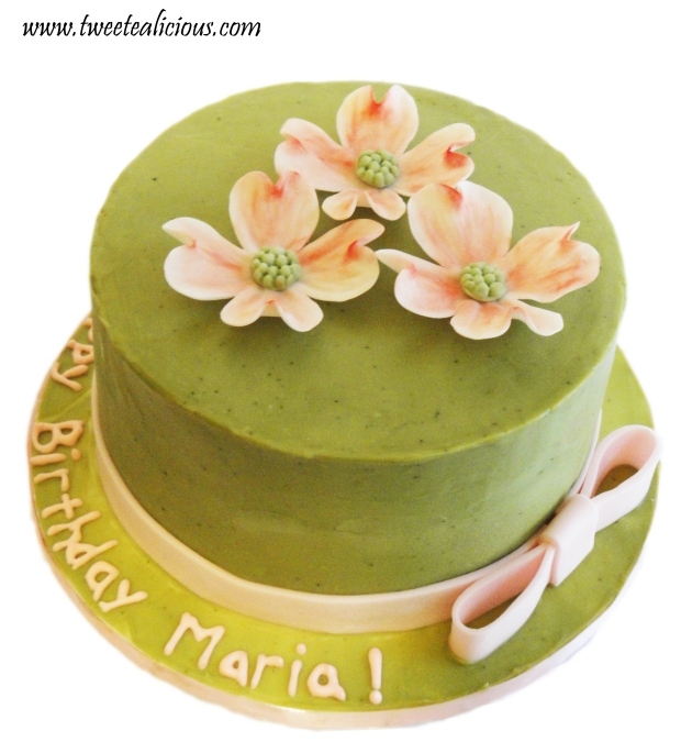 Dogwood Green Tea Cake