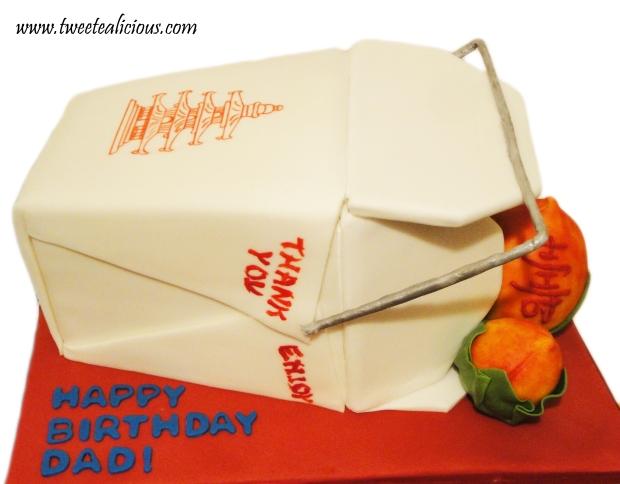 Takeout Box Cake