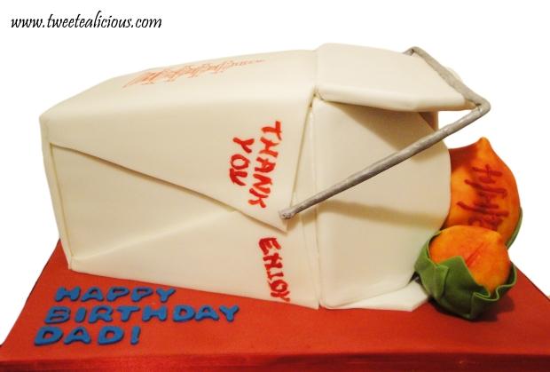 Takeout Box Cake2