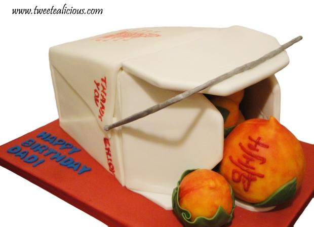 Takeout Box Cake3